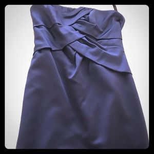 Alfred Angelo strapless bridesmaid dress - size 10